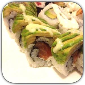 Cream Cheese & Salmon Roll