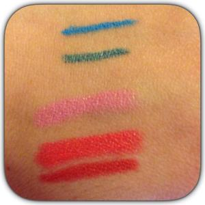 Swatch Summer Makeup 2014