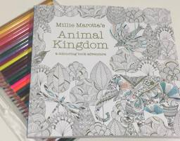 Millie Marotta's Animal Kingdom Colouring Book – I Heart Edition 2016